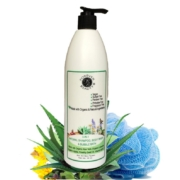 Natural Organic shampoo, wash and bubble bath 3in1|Aloe Vera|Vegan|Argan| Sulfate free, parabens free, Las free|SLES free|Natural shampoo
